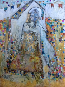 Untitled - 2013 - Mixed Media panel - Sold