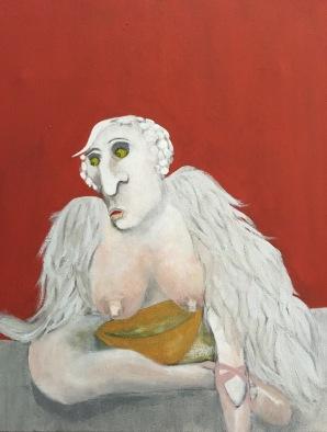 2015 |Swamp lake |Mixed media on canvas