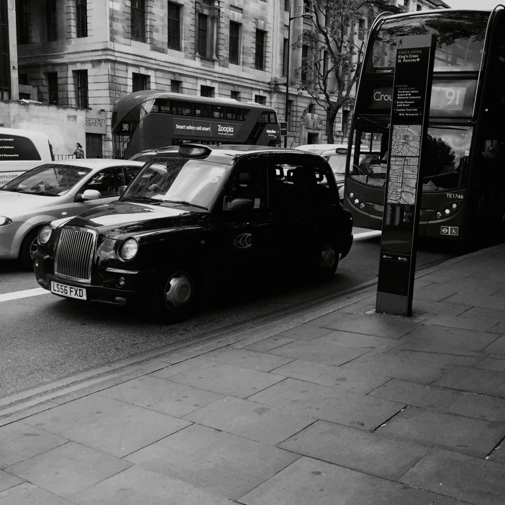 Ive missed the charm of  the London cabs.