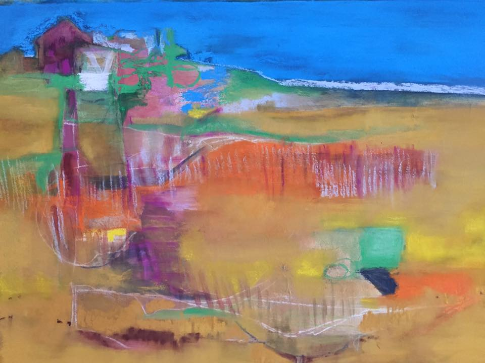 Ipswich Mixed media on canvas 24 x 18 in