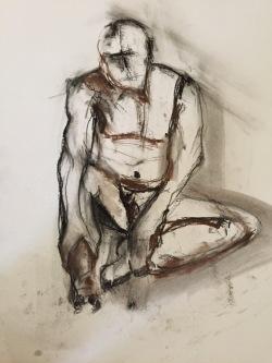 Figure sitting