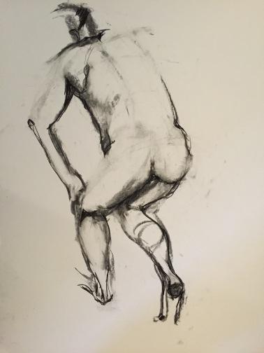 Figure standing